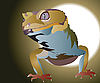Vector clipart: lizard