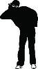 Vector clipart: eavesdropper