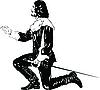 мушкетер салютует