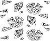 Vector clipart: pizza
