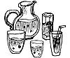 Vector clipart: drink