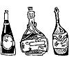 Vector clipart: cognac