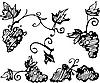 Vector clipart: Grapes
