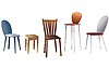Vector clipart: chairs