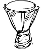 Vector clipart: percussion orchestra instrument