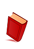 Vector clipart: red book