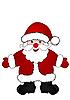 Vektor Cliparts: Weihnachtsmann