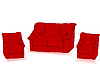Sofá rojo | Ilustración
