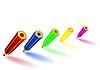 Vector clipart: colour pencils