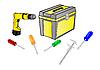 Vector clipart: tools