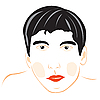 Vector clipart: male person on white