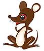 Vector clipart: Nice fairy-tale mouse