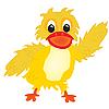 Nice duckling | Stock Vector Graphics