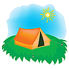 Vector clipart: Rest on nature