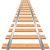 Векторный клипарт: железная дорога