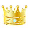 Векторный клипарт: золотая корона