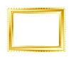 Vector clipart: Gold frame