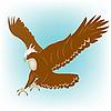 Vector clipart: Eagle