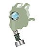 Vector clipart: Gas mask
