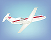 Vector clipart: Big passenger air plane