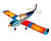 Vector clipart: Small air plane