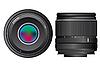 Vector clipart: camera lenses