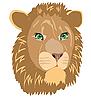 Vector clipart: lion