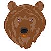 Vector clipart: brown bear