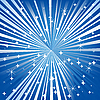 Vector clipart: Blue festive background with stars