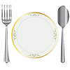Vector clipart: Table service