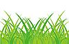 Vector clipart: Green grass