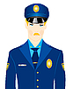 ID 3134398 | Polizistin in Uniform | Stock Vektorgrafik | CLIPARTO