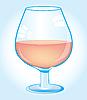 Vektor Cliparts: Becher mit Wein