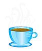 Векторный клипарт: Кубок ароматного кофе