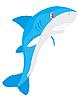 Vector clipart: Ravenous fish shark