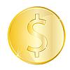 Vektor Cliparts: Münzen EUR