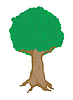 Vector clipart: big tree
