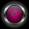 Vector clipart: Bright clock