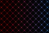 Vector clipart: Abstract neon grid background