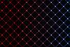 Abstrakter gitterförmiger Neonhintergrund