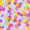 Векторный клипарт: Фон из красивых цветов