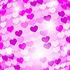 Векторный клипарт: фон из сердечек
