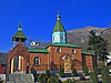 ID 3062633 | Christliche Kirche und Berg | Foto mit hoher Auflösung | CLIPARTO