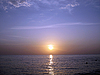 Sunset over the sea | Stock Foto
