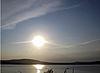 Zachód. Tambukan jezioro. Lato | Stock Foto