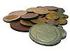 러시아 동전 | Stock Foto