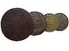 옛 러시아 동전 | Stock Foto