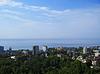 Photo 300 DPI: Seashore of Black sea in Sochi. Summer travel
