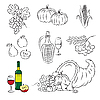 Vector clipart: Autumn Harvest