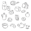 Vector clipart: Food Breakfast